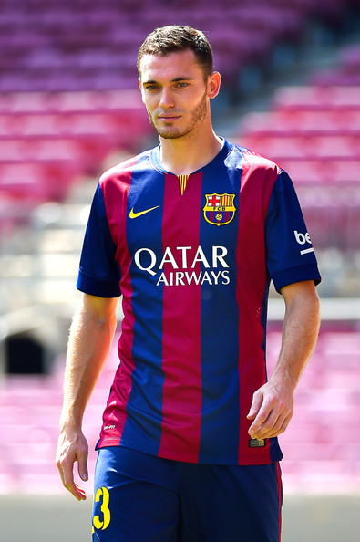 Thomas Vermaelen Pictures - FC Barcelona Unveils New ...