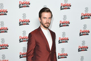 Actor Dan Stevens poses in the winners room at the THREE Empire awards at The Roundhouse on March 19, 2017 in London, England.
