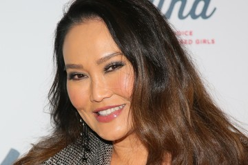 Tia Carrere Steven Tyler's Grammy Awards After Party Benefiting Janie's Fund - Arrivals