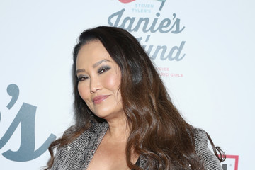 Tia Carrere Steven Tyler's 2nd Annual Grammy Awards Viewing Party To Benefit Janie's Fund Presented By Live Nation - Inside