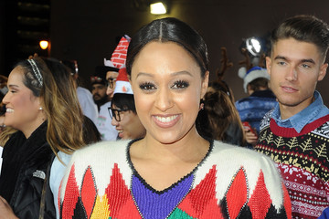 """Tia Mowry Premiere For Columbia Pictures' """"The Night Before"""" - Red Carpet"""