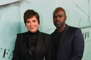 Kris Jenner and Corey Gamble attend Tiffany & Co. Celebrates 2018 Tiffany Blue Book Collection, THE FOUR SEASONS OF TIFFANY at Studio 525 on October 9, 2018 in New York City.