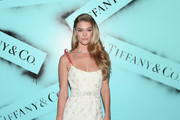 Nina Agdal attends the Tiffany & Co. Modern Love Photography Exhibition on February 9, 2019 in New York City.