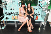 Natalie Suarez (L) and Dylana Suarez attend the Tiffany & Co. Paper Flowers event and Believe In Dreams campaign launch on May 3, 2018 in New York City.