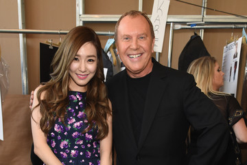 Tiffany Hwang Michael Kors Fall 2015 Runway Show - Backstage