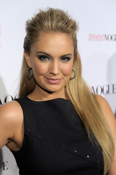 Tiffany Thornton Actress Tiffany Thornton arrives at The 8th Annual Teen Vogue Young Hollywood Party at Paramount Studios on October 1, 2010 in Los Angeles, California.