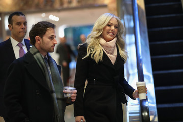 Tiffany Trump New Yorkers Rally at Trump International Hotel on the Eve of the Inauguration