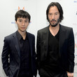 Tiger Chen Keanu Reeves Arrives at the Variety Studio