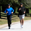 Tiger Woods Jogs Back into the Spotlight -  No-So-Candid Celebrity Moments