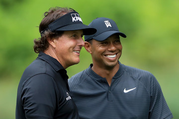 Tiger Woods Phil Mickelson World Golf Championships-Bridgestone Invitational - Preview Day 3