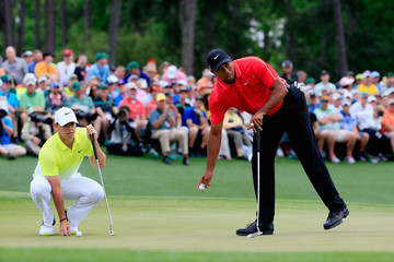 Tiger Woods Rory McIlroy The Masters - Final Round