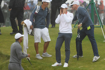 Tiger Woods Rory McIlroy U.S. Open - Preview Day 3