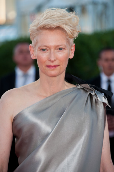 Tilda Swinton - Award Ceremony and 'Snowpierce' Premiere - The 39th Deauville Film Festival