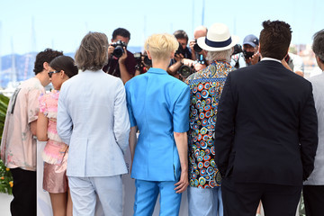 """Tilda Swinton Bill Murray """"The French Dispatch"""" Photocall - The 74th Annual Cannes Film Festival"""