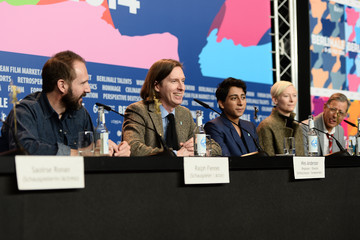 Tilda Swinton Wes Anderson 'The Grand Budapest Hotel' Press Conference