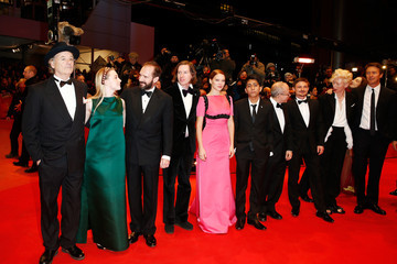 Tilda Swinton Wes Anderson 'The Grand Budapest Hotel' Premieres in Berlin