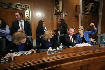 Tim Kaine HHS Secretary Azar Testifies At Senate Hearing On Trump's Drug Pricing Plan