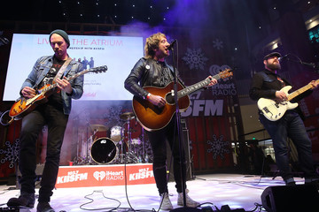 Tim Lopez Westfield Century City Presents 'Live at the Atrium' Holiday Concert Series in Partnership with KIISFM - Plain White T's