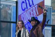 Faith Hill and Tim McGraw perform On NBC's Today at Rockefeller Plaza on November 17, 2017 in New York City.