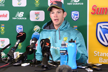 Tim Paine South Africa vs. Australia - 4th Test: Day 3
