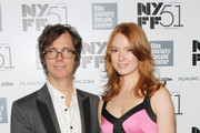 Singer-songwriter Ben Folds and actress Alicia Witt attend the 'About Time' premiere during the 51st New York Film Festival at Alice Tully Hall at Lincoln Center on October 1, 2013 in New York City.