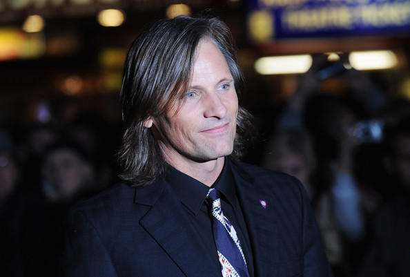 Actor Viggo Mortensen arrives for the premiere of 'The Road' during the Times BFI 53rd London Film Festival at the Vue West End on October 16, 2009 in London, England.