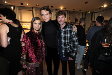 Timo Weiland DISARONNO Wears ETRO Launch Event