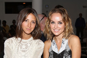 Arielle Nachmani and Kelly Framel attend the Timo Weiland Women's MADE Fashion Week Spring 2014 at Milk Studios on September 10, 2013 in New York City.