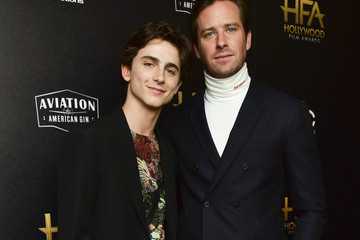 Timothee Chalamet 22nd Annual Hollywood Film Awards - Press Room