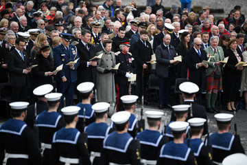 Timothy Laurence WW100 Scotland's Day Of Commemoration