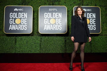 Tina Fey 78th Annual Golden Globe® Awards: Arrivals