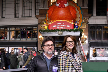 Tina Fey Jeff Richmond 92nd Annual Macy's Thanksgiving Day Parade - Rehearsals Day 1