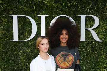 Tina Kunakey Christian Dior Celebrates 70 Years of Creation - Exhibition At Musee des Arts Decoratifs - Photocall