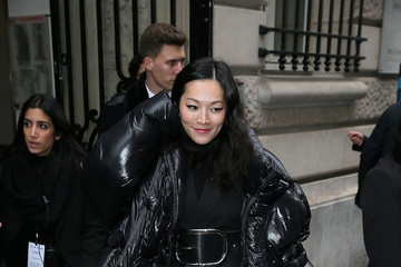 Tina Leung Celebrity Sightings : Day Four - Paris Fashion Week- Haute Couture Spring Summer 2017