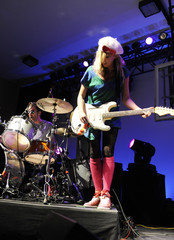 Katie White ules De Martino Ting Tings In Concert