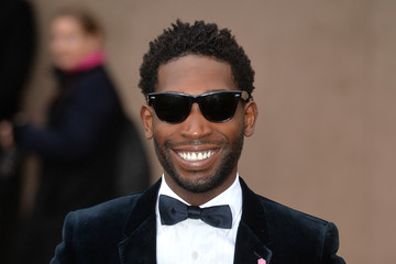 Tinie Tempah Burberry Prorsum: Red Carpet Arrivals