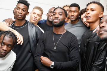 Tinie Tempah What We Wear - Backstage - LFW Men's January 2017