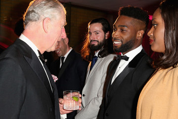 Tinie Tempah The Prince of Wales Attends The Pre-Dinner Reception For The Prince's Trust 'Invest In Futures' Gala