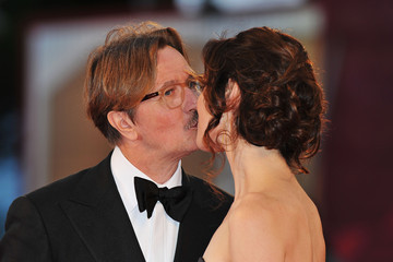 "Gary Oldman Donya Fiorentino ""Tinker, Tailor, Soldier, Spy"" Premiere - 68th Venice Film Festival"