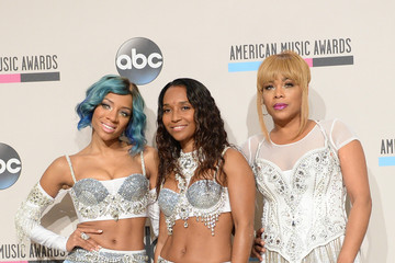 Tionne Watkins Press Room at the American Music Awards