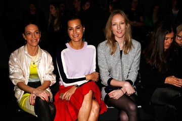 Tiphaine Chapman Jonathan Saunders: Front Row - London Fashion Week AW14
