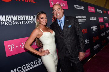 Tito Ortiz SHOWTIME, WME|IMG, and MAYWEATHER PROMOTIONS VIP Pre-Fight Party Arrivals on the T-Mobile Magenta Carpet for Mayweather VS McGregor