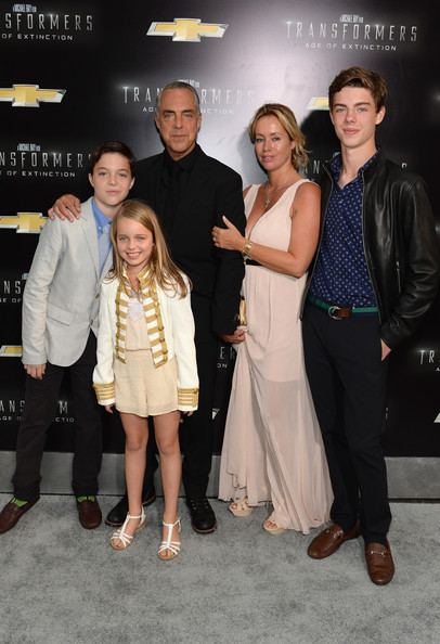 Photo of Titus Welliver & his  Son  Walling Welliver