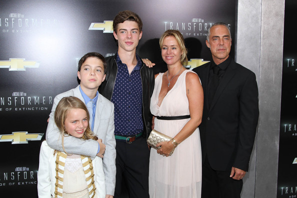 Photo of Titus Welliver & his  Daughter   Eamonn Lorcan Charles Welliver