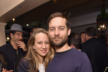 Tobey Maguire Jennifer Meyer The Grand Opening of Au Fudge, Presented by Amazon Family