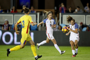 Tobin Heath Romania v United States