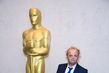 Toby Jones The Academy Of Motion Picture Arts And Sciences New Members Reception - Red Carpet Arrivals