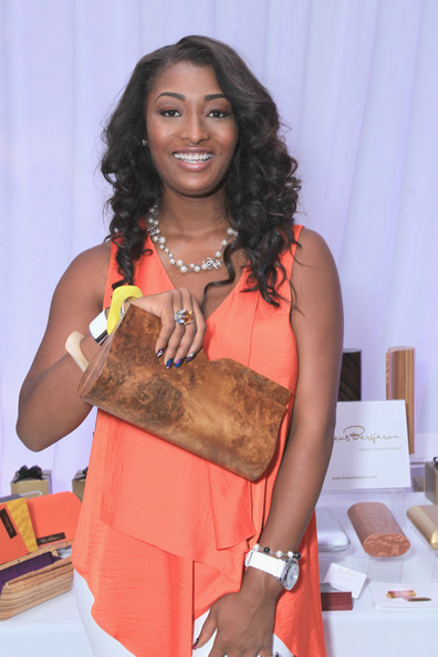Toccara Jones Model Attends Day Bet Awards