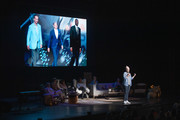 Abby Wambach on stage at Together Live at Walton Arts Center on October 18, 2019 in Fayetteville, Arkansas.