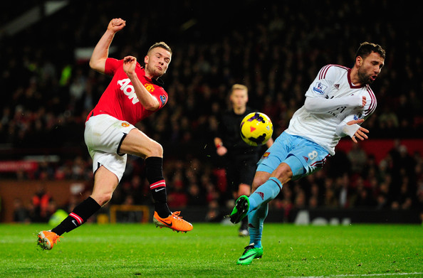 Tom Cleverley - Manchester United v West Ham United - Premier League
